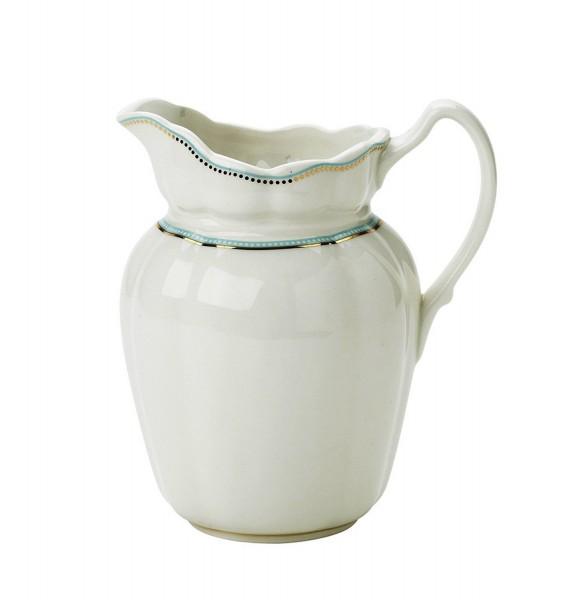Sahnekännchen Milchkanne Tee Kaffee Krug Porzellan Küchen Kanne Lisbeth Dahl