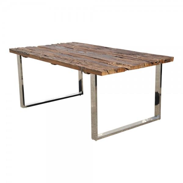 Massiver Esstisch Recycling Holz Antik Look Esstisch Esszimmertisch 3 Größen 180/200/220 cm