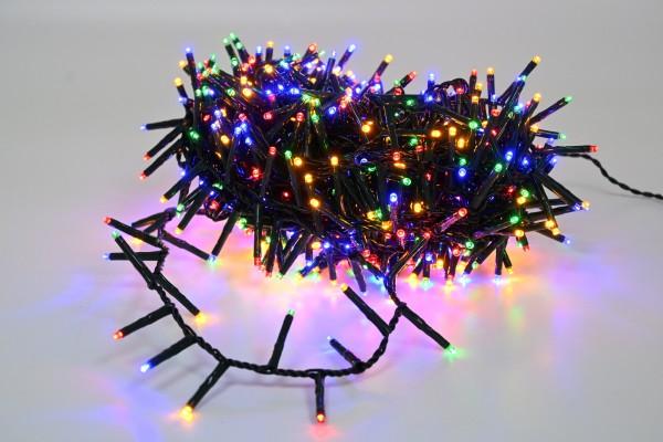 750 LED APP Lichterkette 16m bunt mit 8 Leuchtfunktionen Dimmbar für Innen und Außen