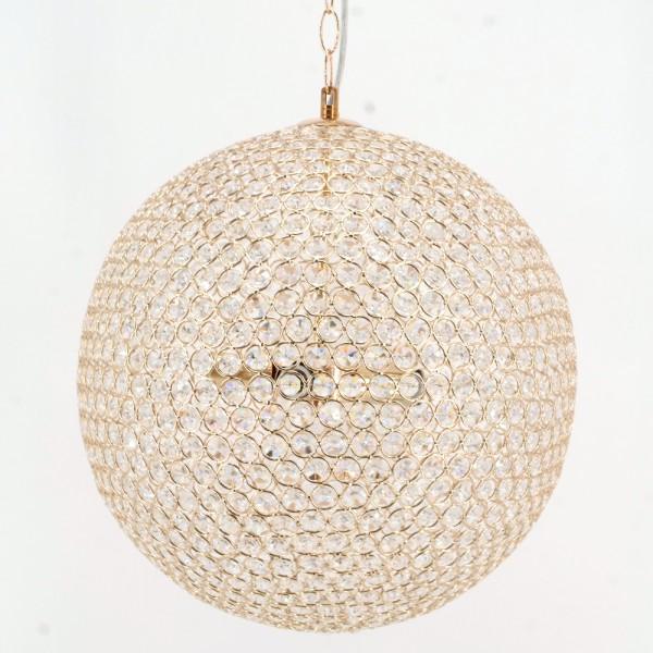 Hängelampe Pendelleuchte Hängeleuchte Lampe mit künstlichen Kristallen
