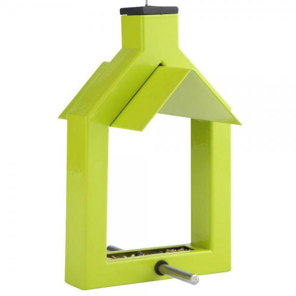Vogelfutterstation Futterspender Vogelhaus Futterbrett Alicante Bird Table Grün
