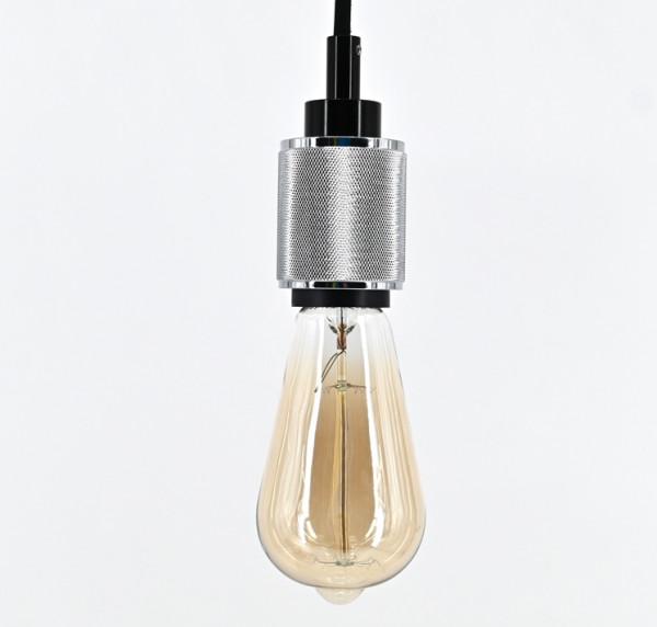 Vintage Pendelleuchte Retro Hängelampe Lampenfassung mit Kabel E27 Schnurpendel
