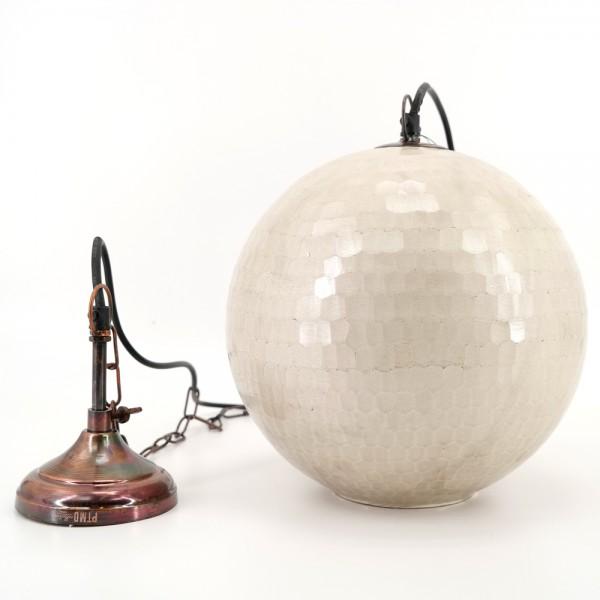 PTMD Hängelampe Kugel mit Deckenabschluß Ketten Pendel Leuchte E27