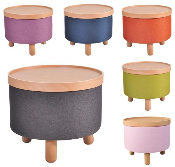 Couch-Beistell-Tisch Hocker Molde Tablett abnehmbar Teracotta