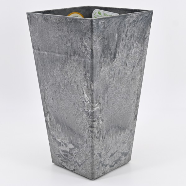 Artstone Pflanztopf ELLA Übertopf Vase Pflanzgefäß Pflanzkübel Drainagesystem H 35 cm