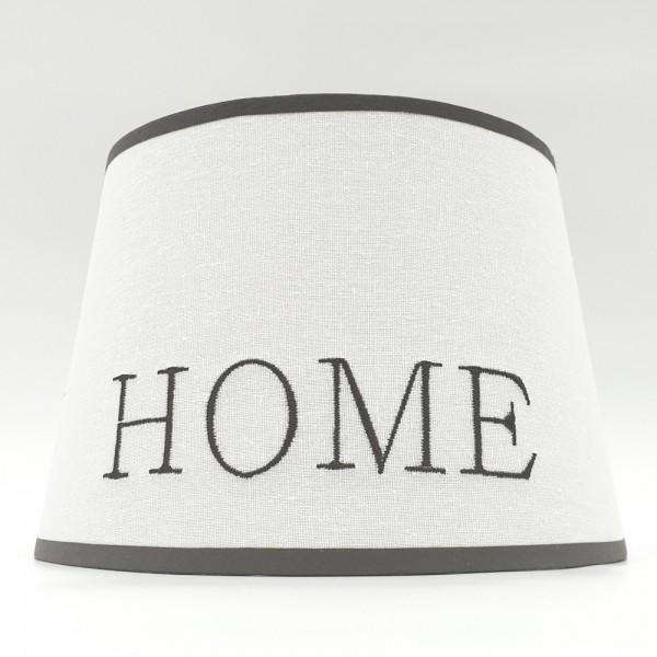 Home Art Design Lampenschirm Stoff Tischlampe Landhaus Schirm Shabby Chic