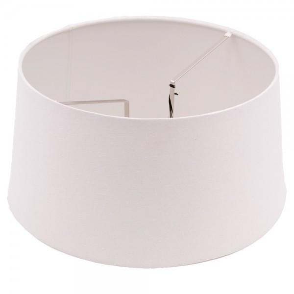 PTMD Lampenschirm für Stehleuchten Tisch Lampen Schirm Ø 40 cm natur