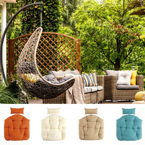 Sitzkissen Kissen Hänge-Sessel Sitzpolster Rückenpolster Hängekorb-Auflage