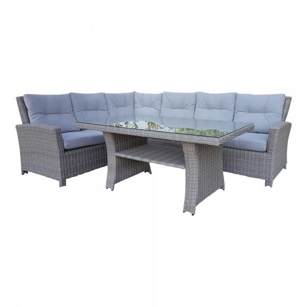 Polyrattan Loungemöbel Set Versandkostenfrei Dasmoebelwerkde