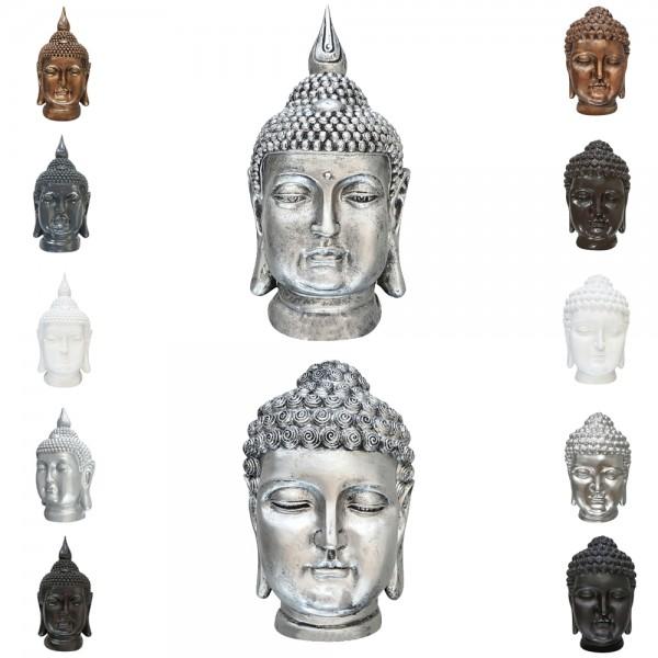 dasmöbelwerk Buddha Kopf 52 - 54 cm Gartenfigur