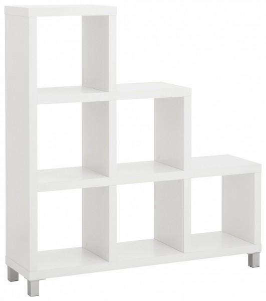 Raumteiler KIWI Treppen Regal FSC®-zertifiziert