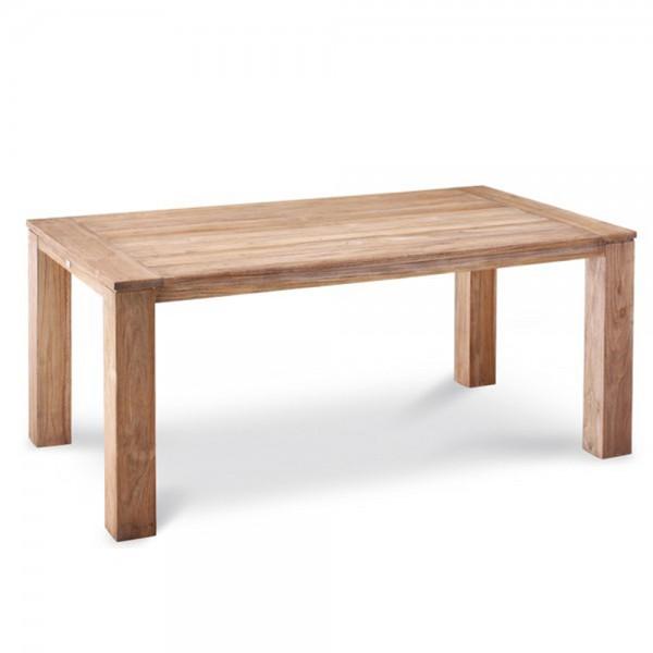 Best Teak-Tisch Moretti Old-Teak Holz Esszimmer Garten Tisch massiv grey-wash